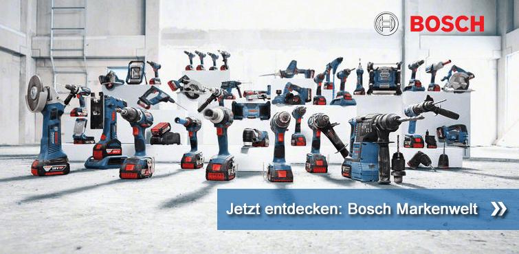 Jetzt entdecken: Bosch Markenwelt